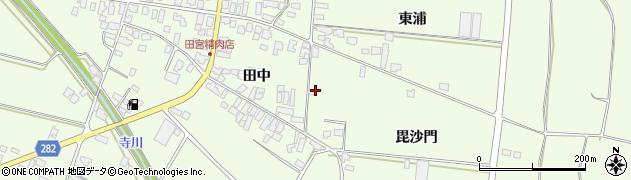 山形県西村山郡河北町溝延毘沙門577周辺の地図