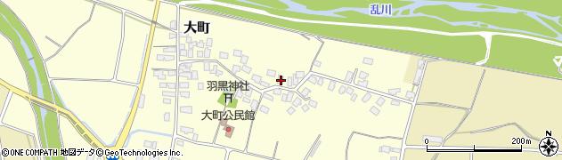 山形県天童市大町151周辺の地図