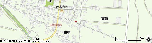 山形県西村山郡河北町溝延九区周辺の地図