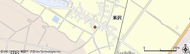 山形県寒河江市米沢39周辺の地図