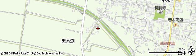 山形県西村山郡河北町溝延黒木渕575周辺の地図