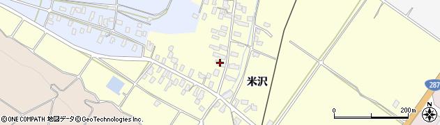 山形県寒河江市米沢49周辺の地図