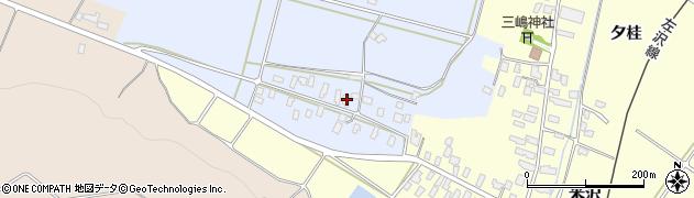 山形県寒河江市清助新田362周辺の地図