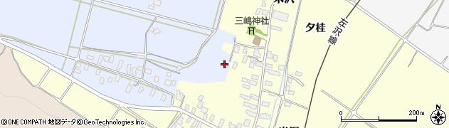 山形県寒河江市清助新田544周辺の地図