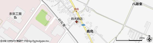 山形県寒河江市八鍬1048周辺の地図