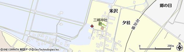 山形県寒河江市清助新田442周辺の地図