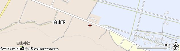 山形県寒河江市谷沢665周辺の地図