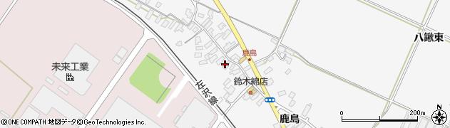 山形県寒河江市八鍬512周辺の地図