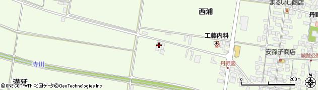 山形県西村山郡河北町溝延209周辺の地図