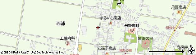山形県西村山郡河北町溝延西浦36周辺の地図