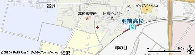 山形県寒河江市高松138周辺の地図