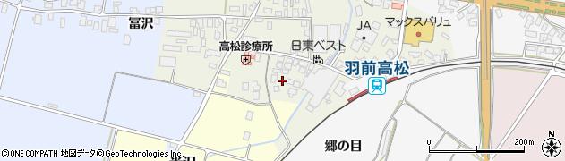 山形県寒河江市高松134周辺の地図