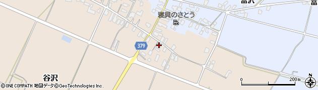 山形県寒河江市谷沢578周辺の地図