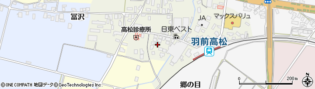 山形県寒河江市高松133周辺の地図
