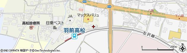 山形県寒河江市高松279周辺の地図