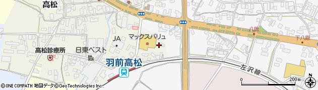 山形県寒河江市高松276周辺の地図