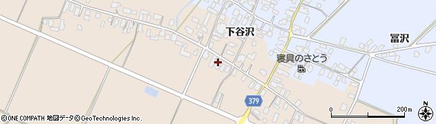 山形県寒河江市谷沢534周辺の地図