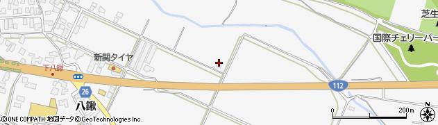 山形県寒河江市八鍬1441周辺の地図