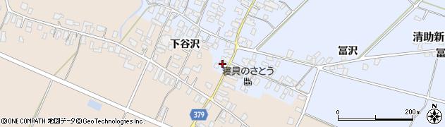 山形県寒河江市清助新田41周辺の地図