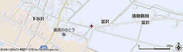 山形県寒河江市清助新田603周辺の地図