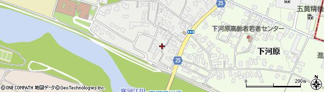 山形県寒河江市中河原23周辺の地図