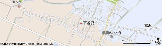 山形県寒河江市谷沢524周辺の地図