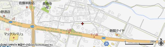山形県寒河江市八鍬546周辺の地図