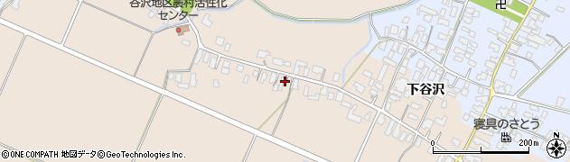 山形県寒河江市谷沢427周辺の地図