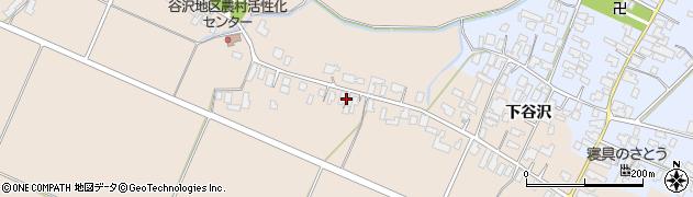 山形県寒河江市谷沢426周辺の地図