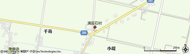 山形県西村山郡河北町溝延吉原1周辺の地図