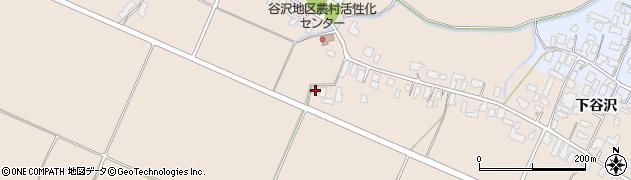 山形県寒河江市谷沢1015周辺の地図