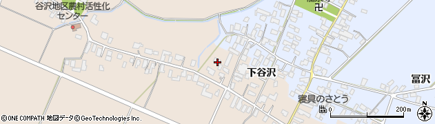 山形県寒河江市谷沢525周辺の地図