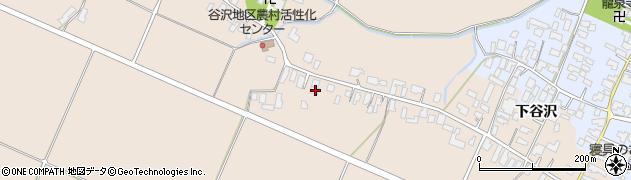 山形県寒河江市谷沢423周辺の地図