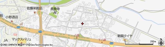 山形県寒河江市八鍬70周辺の地図
