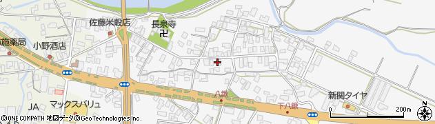 山形県寒河江市八鍬67周辺の地図