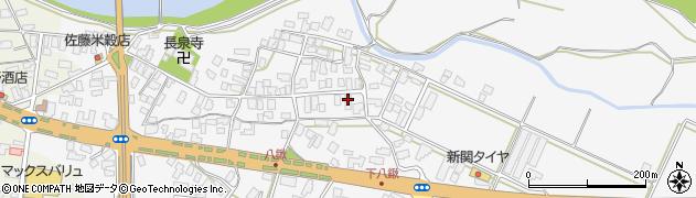 山形県寒河江市八鍬77周辺の地図