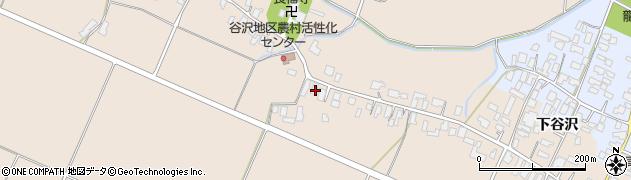山形県寒河江市谷沢421周辺の地図