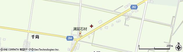山形県西村山郡河北町溝延吉原5周辺の地図
