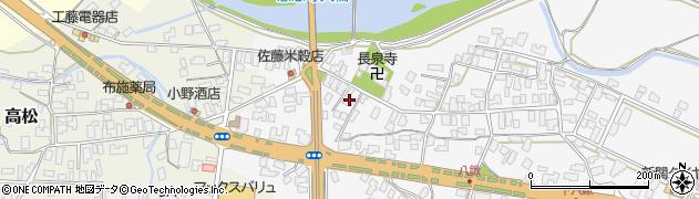 山形県寒河江市八鍬569周辺の地図