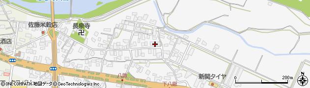 山形県寒河江市八鍬47周辺の地図