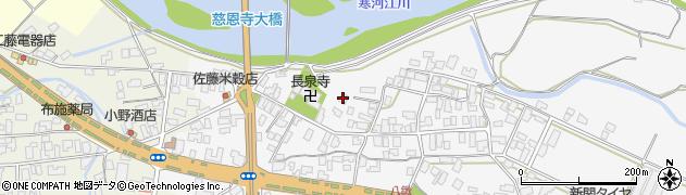 山形県寒河江市八鍬19周辺の地図