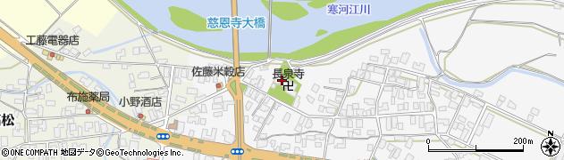 山形県寒河江市八鍬6周辺の地図