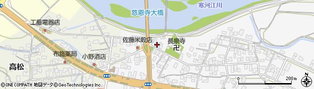 山形県寒河江市八鍬1603周辺の地図
