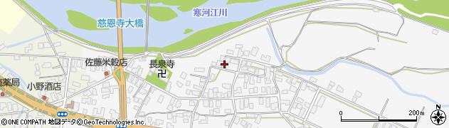 山形県寒河江市八鍬25周辺の地図