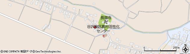 山形県寒河江市谷沢1253周辺の地図