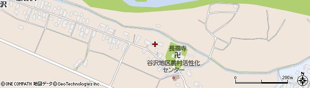 山形県寒河江市谷沢725周辺の地図