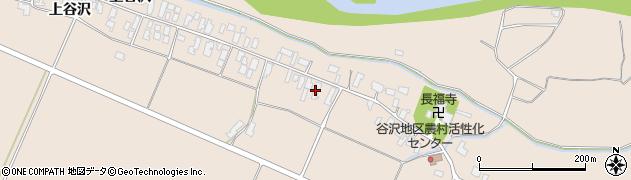 山形県寒河江市谷沢276周辺の地図