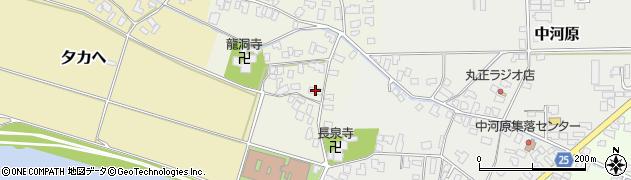 山形県寒河江市上河原171周辺の地図