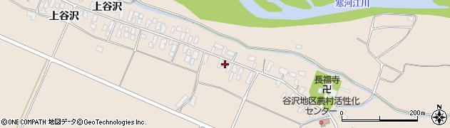 山形県寒河江市谷沢286周辺の地図