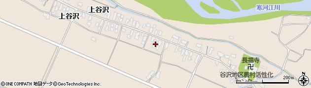 山形県寒河江市谷沢281-1周辺の地図